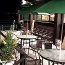 야외테이블세트 카페 정원 (2인용)라탄의자2+테이블80