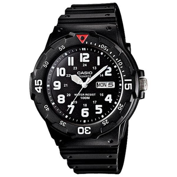 카시오정품 MRW-200H-1B 스포츠 전자손목시계 방수
