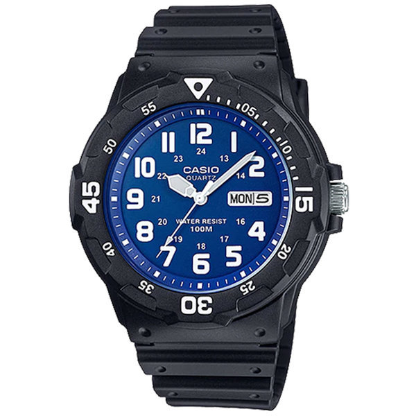 카시오정품 MRW-200H-2B2 스포츠 전자손목시계 방수