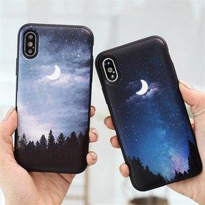 트라이코지 밤하늘달 카드도어범퍼케이스