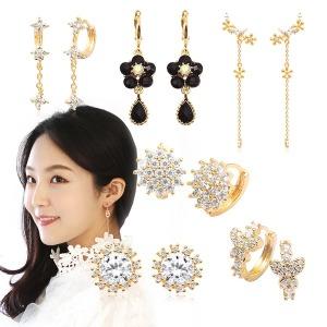 99균일가/14K GOLD_pin 귀걸이 진주/링귀걸이