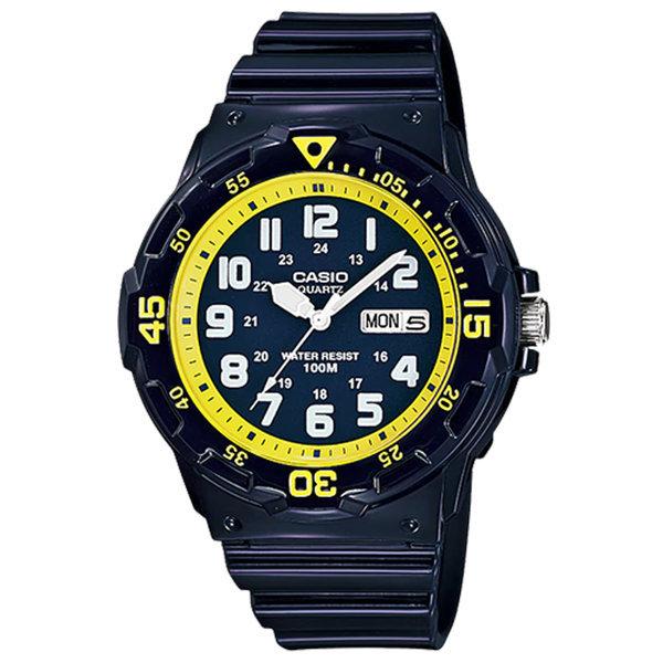 카시오정품 MRW-200HC-2B 스포츠 전자손목시계 방수