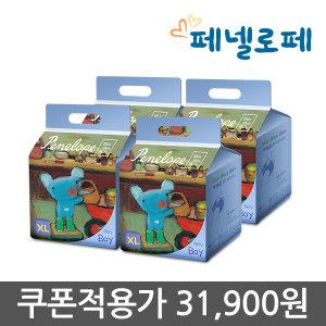 씬씬씬 팬티기저귀 특대형 22매 4팩 (남아용)