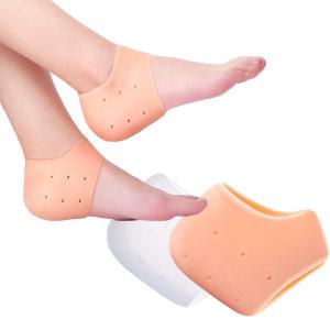 실리콘 발뒤꿈치 패드 발 보호대 2p 발뒷꿈치 패드