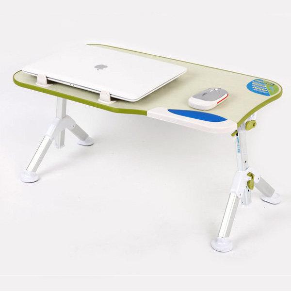 접이식 좌식 노트북 거치대 각도높이조절 ONA-T1 그린