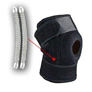무릎 보호대 스프링 관절 보조기 지지대 통증보호대