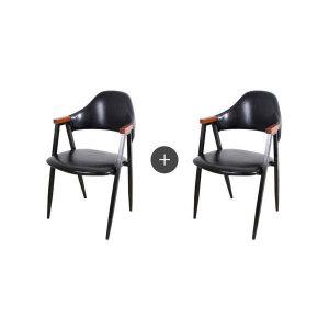(현대Hmall)다크올리브암체어(2개) 인테리어의자/식탁의자/카페의자