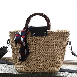 카렌 라탄백 숄더백 여름가방 밀짚가방 크로스백 가방