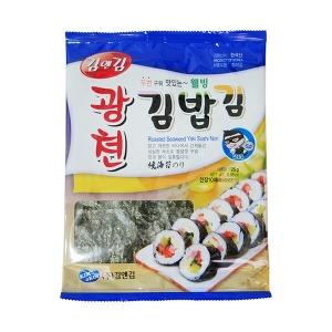 김앤김 구운 김밥김/파래김/조미김 10매 구운김