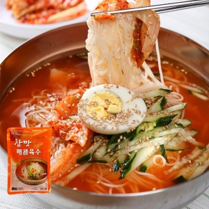 냉면육수 30봉 동치미맛 진사골 묵채 태백 물회 매콤