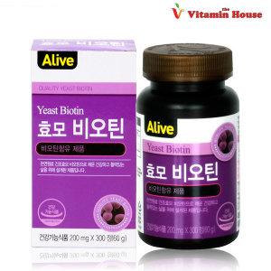 맥주효모 비오틴 1병(300정)