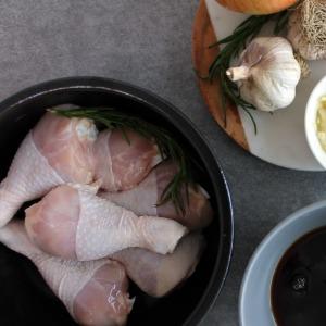 오늘아침에 손질한 두메산골 생닭다리(북채) 1kg
