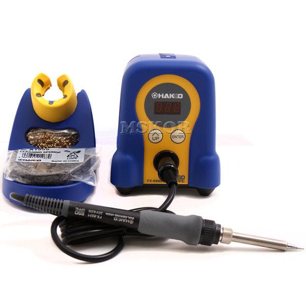 HAKKO 온도조절형 인두 FX-888D 납땜 만족 블루컬러
