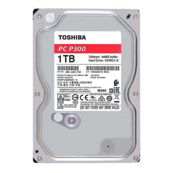 도시바 Toshiba P300시리즈 1TB (HDWD110)