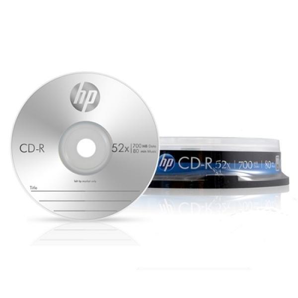 HP CD-R 700MB 52x 케익 (10장)
