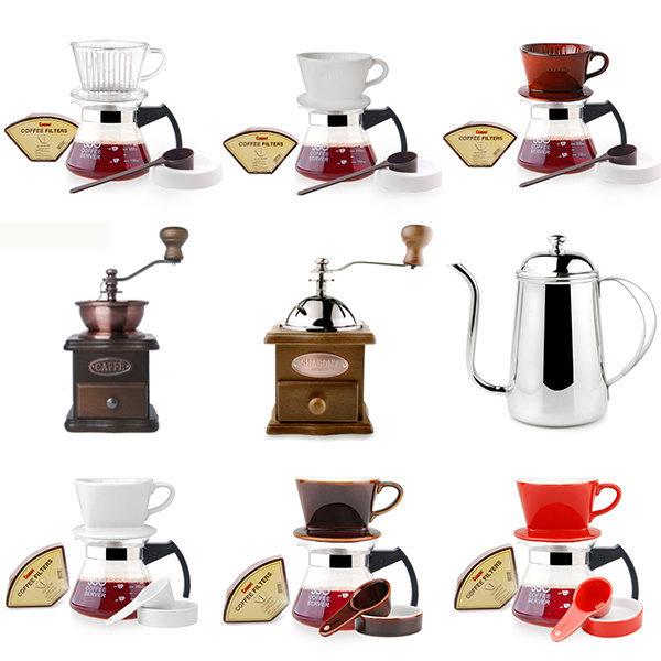 핸드드립세트 드립포트 핸드밀 커피용품 커피드리퍼