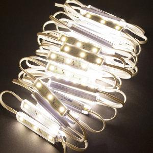 LED 3구 모듈 전구색 50개+안정기세트 7.8M 간판조명