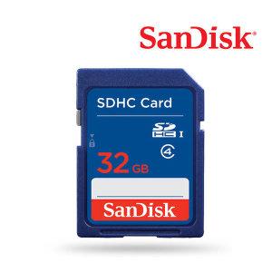 SD카드 32GB Class4