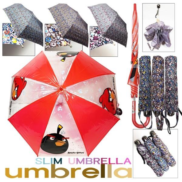 늘푸른백화점 캐릭터MMWK13 자동투명장우산 슬림우산