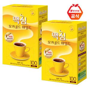 맥심 모카골드 블랙스틱 커피 200T (커피만)