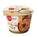 현미 컵반 낙지콩나물비빔밥