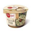 현미 컵반 버섯곤드레비빔밥