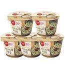현미 컵반 버섯곤드레비빔밥 5개 / 신상컵반