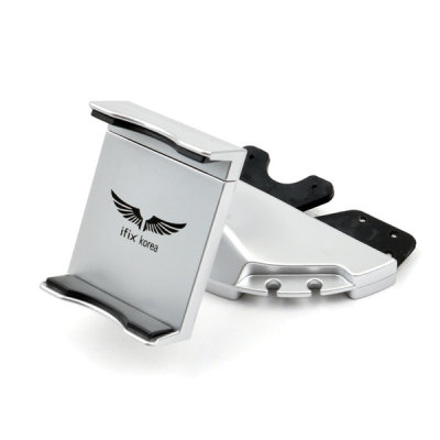 [아이픽스] 차량용 CD-300 실버 거치대 핸드폰 스마트폰 휴대폰