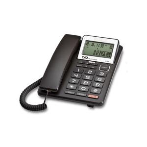 대우코러스 유선전화기 DT-3360 이어셋겸용 CID 블랙