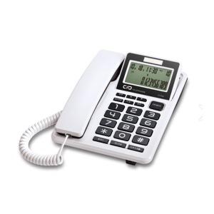 대우코러스 유선전화기 DT-3360 이어셋겸용CID 화이트