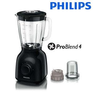 (현대Hmall)필립스 데일리 컬렉션 1.5L 프로 블렌더4 믹서기 HR2106 분쇄기능/얼음분쇄/스무디/주서기