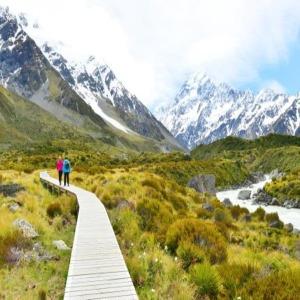호주/뉴질랜드 남북섬 10일 노팁/노옵션+마운트쿡트래킹+와이토모 반딧불이 동굴