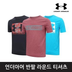 정품 언더아머 라운드 티셔츠/워드마크/빅사이즈/반팔