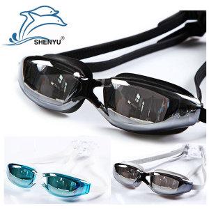 SY9011 UV차단미러코팅 수경/물안경/귀마개증정