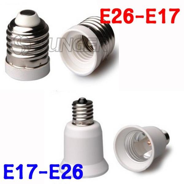E26-E17/E17-E26  변환소켓/변환젠더
