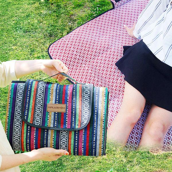 감성 피크닉 매트 돗자리 방수 소풍 야외 접이식 캠핑