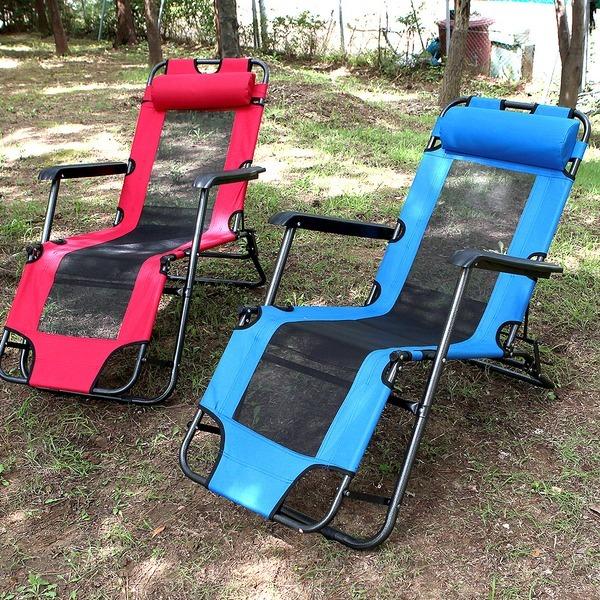 3단침대의자 접이식 비치의자 야전침대 알미늄 의자