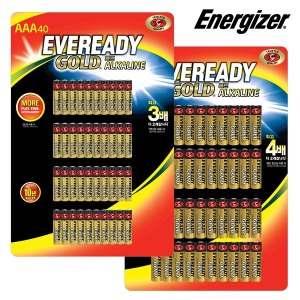에너자이저 에버레디 골드 40입 AA/AAA