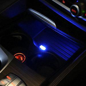 자동차 미니 USB LED 무드등 실내 조명 램프 차량용품