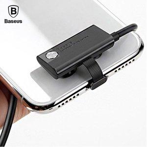 베이스어스 모바일게임용 흡착식 굴절 충전 케이블 1M 아이폰 애플8핀