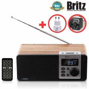 BA-D1 무선 블루투스 알람 시계 USB FM 라디오 스피커