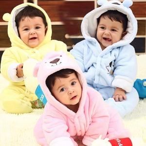 신생아 겨울우주복 아기 패딩우주복 출산선물 백일복