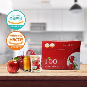 싱싱순사과즙 꿀사과맛 사과100% 50포 1박스 냉장고쏙~