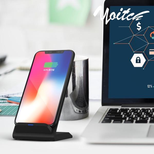 코엘 고속 무선충전기 스탠드형 휴대폰 아이폰/갤럭시