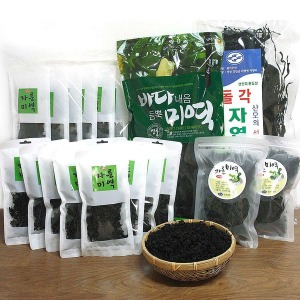 A급원초/완도미역/자른미역/산모용미역/햇다시마/미역