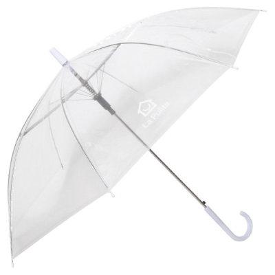 [모닝글로리] MG 4000 라푸리타 투명 장우산 심플타입 두꺼운 비닐
