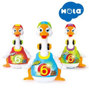 (홀라)스윙구스 3색상 택1/움직이는 동물인형 장난감