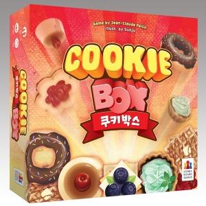 쿠키박스 한글판 보드게임 정품