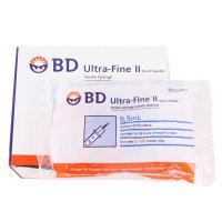 BD 울트라파인 인슐린 주사기 0.5ml  100개입 31G
