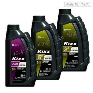 GS칼텍스/ Kixx PAO 5W30/C3 5W30/C3 5W40 Kixx 클린